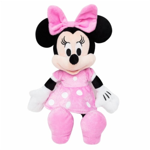Disney 46037 Minnie Mouse Plush Doll Perspective: front