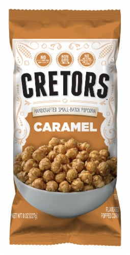 G.H. Cretors Caramel Flavored Popped Corn Perspective: front