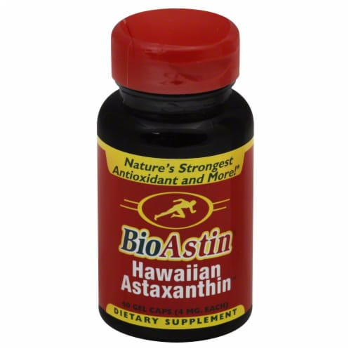Nutrex Hawaii BioAstin Astaxanthin Perspective: front
