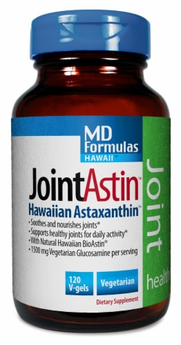 Nutrex Hawaii  JointAstin™ Hawaiian Astaxanthin™ Dietary Supplement Perspective: front