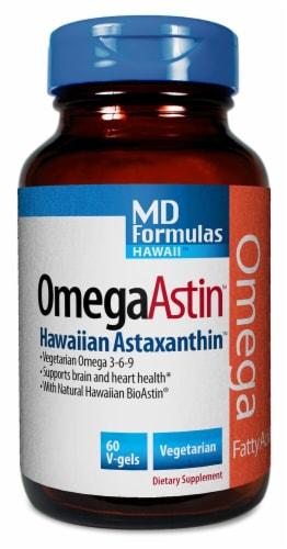 Nutrex Hawaii  OmegaAstin™ Hawaiian Astaxanthin Dietary Supplement Perspective: front