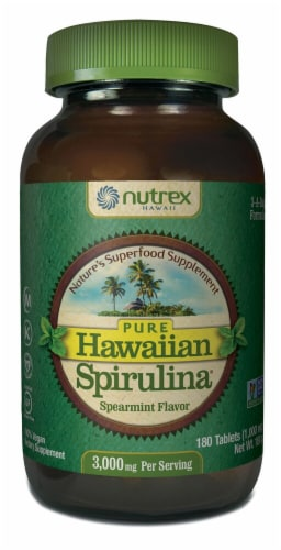 Nutrex Hawaii  Spirulina Pacifica®   Spearmint Perspective: front