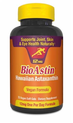 Nutrex Hawaii  BioAstin® Hawaiian Astaxanthin Vegan Formula Dietary Supplement Perspective: front