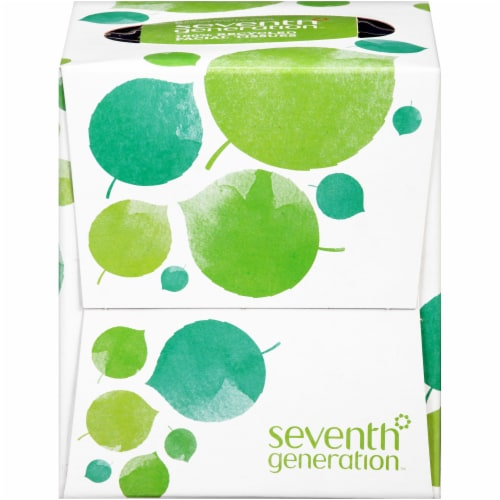 Seventh Generation 100% Recycled Facial Tissues Perspective: front