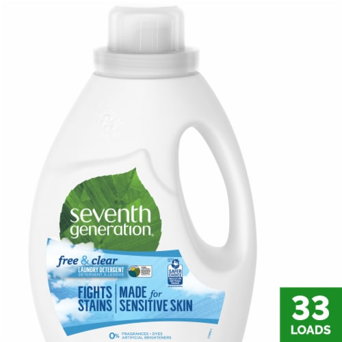 Seventh Generation® Free & Clear Laundry Detergent Perspective: front