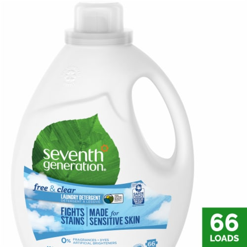 Seventh Generation Free & Clear Liquid Laundry Detergent Perspective: front