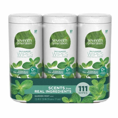 Seventh Generation Multi Purpose Household Cleaning Wipes 3 Pack Perspective: front