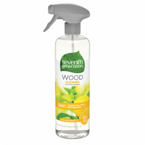 Seventh Generation Lemon Tree Garden Wood Cleaner Perspective: front