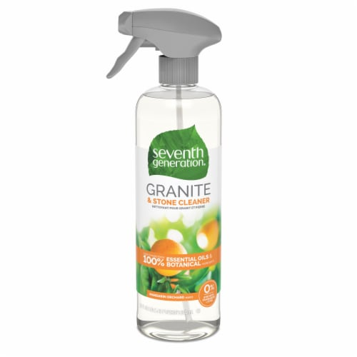Seventh Generation Mandarin Orchard Scent Granite & Stone Cleaner Perspective: front
