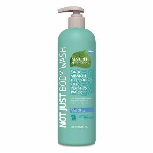Seventh Generation Fragrance Free Body Wash Perspective: front