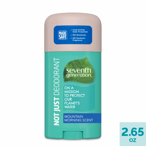Seventh Generation Mountain Morning Solid Deodorant Stick Perspective: front