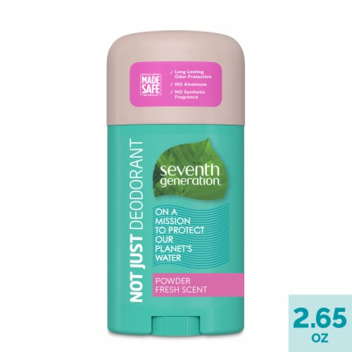 Seventh Generation Powder Fresh Aluminum Free Solid Deodorant Perspective: front