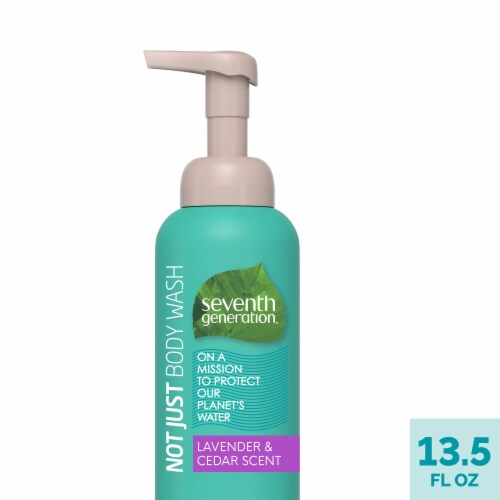 Seventh Generation Lavender & Cedarwood Body Wash Perspective: front