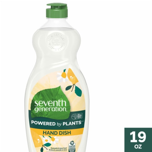 Seventh Generation Powered By Plants Liquid Dish Soap Perspective: front