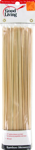 Good Living 12-Inch Bamboo Skewers Perspective: front