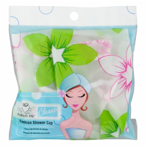 Purely Me Fashion Shower Cap Perspective: front