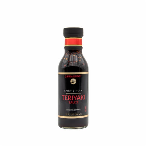 East West Spicy Ginger Teryaki Sauce Perspective: front
