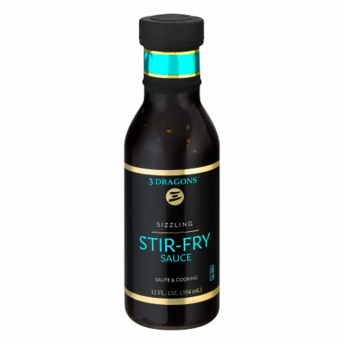 East West Sizzling Stir Fry Sauce Perspective: front