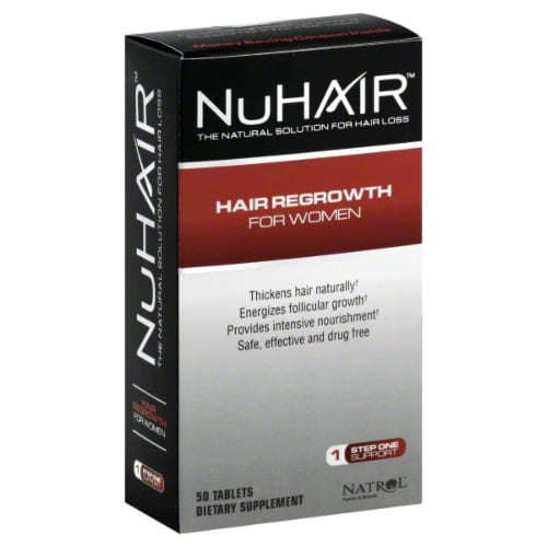 Natrol NuHair Hair Regrowth for Women Perspective: front