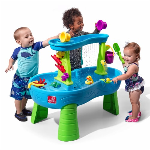 STEP2 Rain Showers Splash Pond Water Table Perspective: front