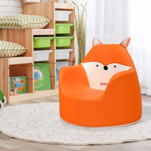 Costway Kids Sofa Seat Toddler Children Armchair Couch Birthday Gift Boy & Girl Perspective: front