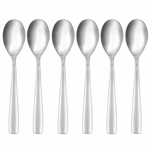 Hampton Forge Austin Demitasse Spoons - Silver Perspective: front
