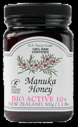 New Zealand Manuka Honey Perspective: front