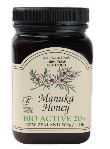 Manuka Honey Perspective: front