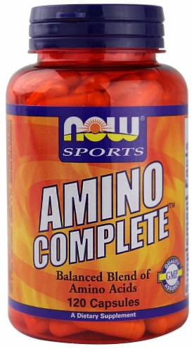 NOW Foods  Sports Amino Complete™ Perspective: front