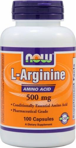 NOW Foods  L-Arginine Perspective: front