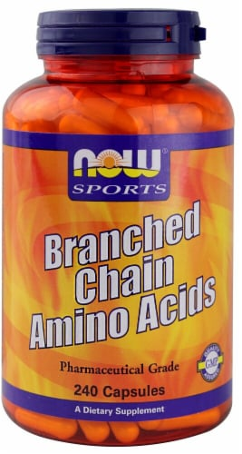 NOW   Sports Branched Chain Amino Acids Perspective: front
