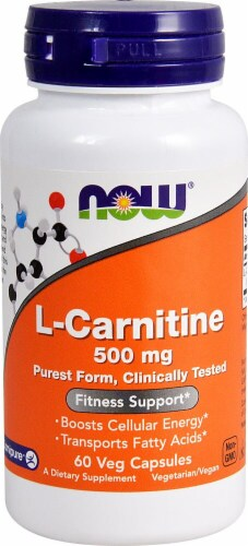 NOW Foods  L-Carnitine Perspective: front