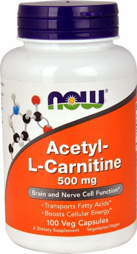 NOW Foods  Acetyl-L Carnitine Perspective: front