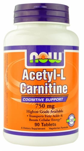 NOW Foods  Acetyl-L-Carnitine Perspective: front