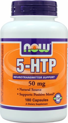 NOW Foods  5-HTP Perspective: front