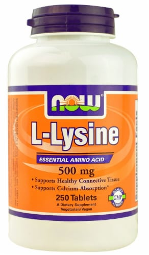 NOW Foods  L-Lysine Perspective: front