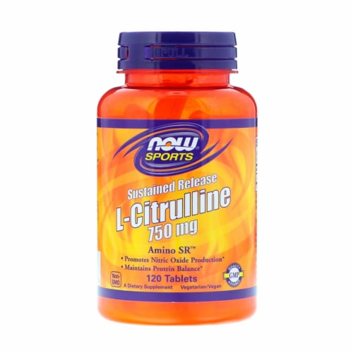 NOW  Sports Sustained Release L-Citrulline Amino SR™ Perspective: front