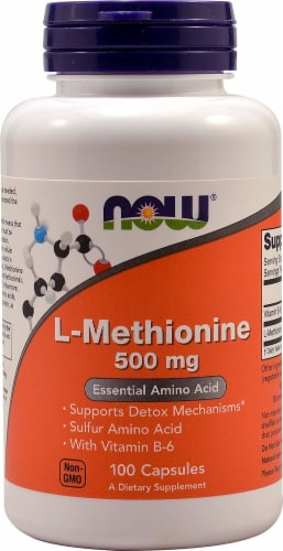 NOW  L-Methionine Perspective: front