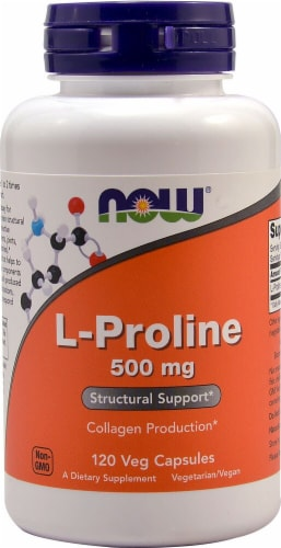NOW  L-Proline Perspective: front