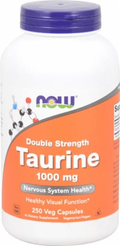 NOW Foods  Taurine Perspective: front