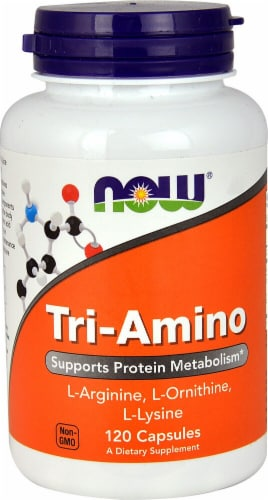 NOW Foods  Tri-Amino Perspective: front