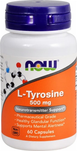 NOW Foods  L-Tyrosine Perspective: front