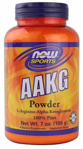 NOW Sports AAKG Powder Perspective: front