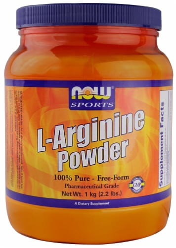 NOW Foods  Sports L Arginine Powder Perspective: front