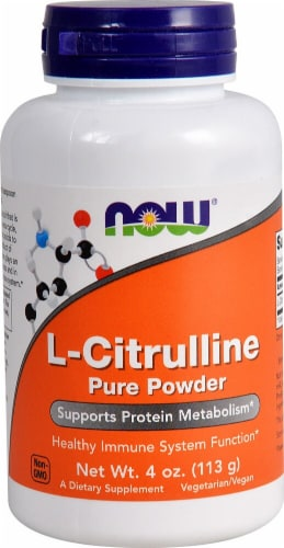 NOW Foods  L-Citrulline Pure Powder Perspective: front