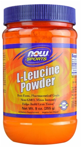 NOW Foods  Sports L-Leucine Powder Perspective: front