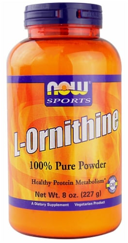 NOW Foods  Sports L-Ornithine Perspective: front