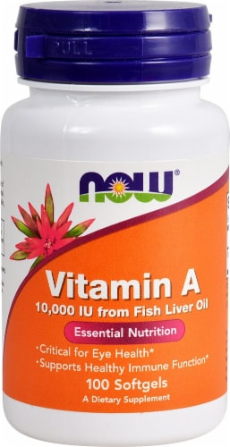 NOW   Vitamin A Perspective: front