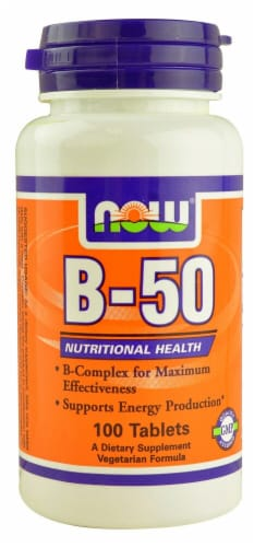 NOW Foods  B-50 Perspective: front