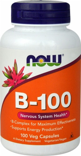 NOW Foods  B-100 Perspective: front